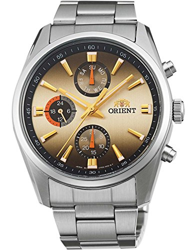 ORIENT watch NEO 70's AM / PM champagne WV0041UY Men