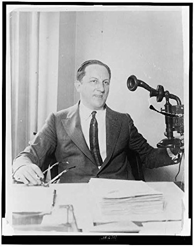 Photo: Arnold Rothstein,behind desk,The Brain,Businessman,Racketeer,Gambler,Kingpin by Infinite Photographs