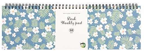Weekly Planners Pad - Weekly and Daily Planning Keyboard Paper Pad 13