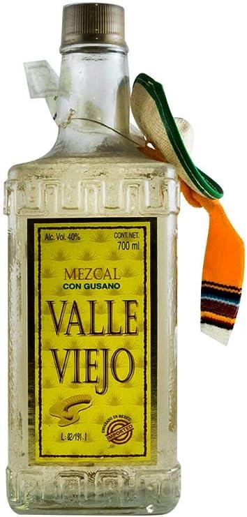 Mezcal Valle Viejo Com Gusano: Amazon.es: Alimentación y bebidas