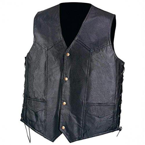 Diamond Plate™ Genuine Leather Vest - L