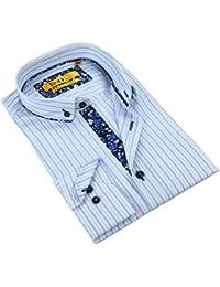 Men's Tailored Fit Pattern Fashion Dress Shirt (Multiple Sizes / Colors)