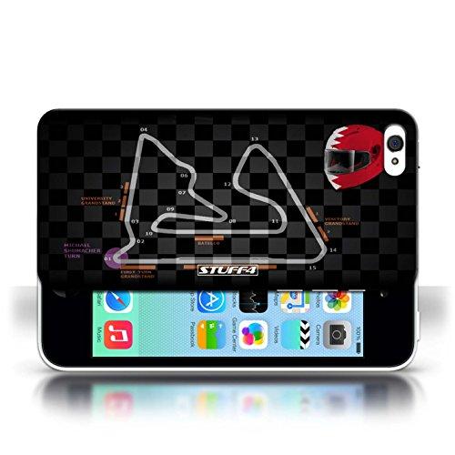 Etui / Coque pour Apple iPhone 5C / Bahreïn/Sakhir conception / Collection de 2014 F1 Piste
