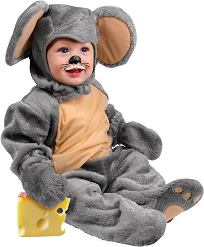 Infant Baby Mouse Halloween Costume (6-12 Months) -