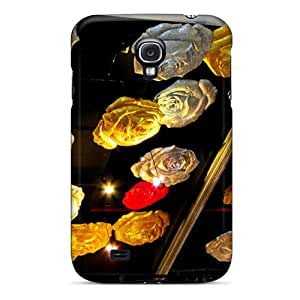 Fashion Tpu Case For Galaxy S4- Roses Ceiling Defender Case Cover