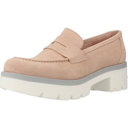 Mocasines para Mujer, Color Rosa, Marca YELLOW, Modelo Mocasines para Mujer YELLOW ESPINELA Rosa: Amazon.es: Zapatos y complementos