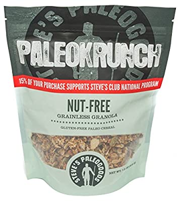 Paleokrunch Nut-Free Original Cereal Grainless Granola, 7.5 oz