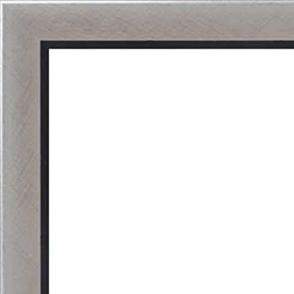 Amazon.com - 10x13 - 10 x 13 Stainless Steel Silver with Black Lip ...