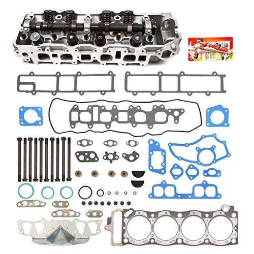 Fits 85-95 Toyota 22R 22RE 22REC 2.4 SOHC 8V Complete Cylinder Head Gasket w/Head Gasket Set Head ()