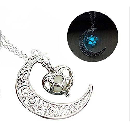 Crescent Necklace halloween personalized Children