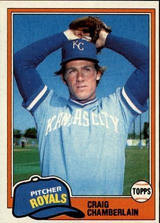Amazoncom 1981 Topps Baseball Card 274 Craig Chamberlain