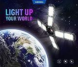 Ansinna LED Garage Lights,150W Deformable Led