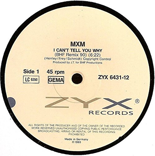 I can't tell you why-BHF Remix 90 (#zyx6431) / Vinyl Maxi Single [Vinyl 12'']
