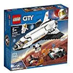 LEGO City Space Mars Research Shuttle 60226 Space Shuttle Toy Building Kit with Mars Rover and Astronaut Minifigures…