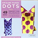 Origami Paper Dots: 49 Sheets