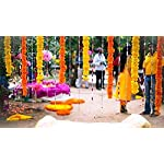 Nexxa-Pack-of-5-Artificial-Dark-Orange-Marigold-Flower-Garlands-5-ft-Long-for-use-in-Parties-Celebrations-Indian-Weddings-Indian-Themed-Event-Decorations-House-Warming