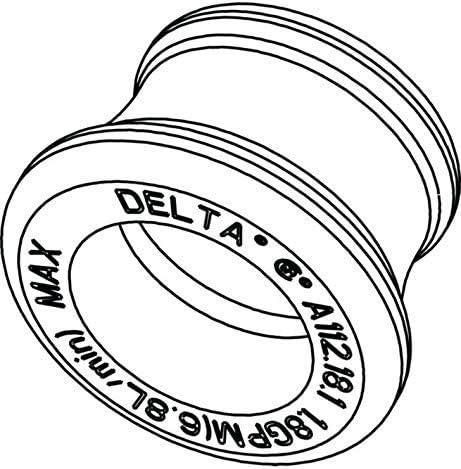 Delta RP61342 Aerator Chrome