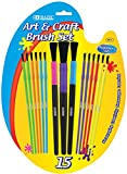 Kid's Watercolor Paint Brush Set 72 pcs SKU# 1931417MA