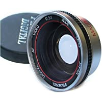 Wide Angle 0.5x AF Lens with Macro for 27mm, 28mm, 37mm and 43mm thread