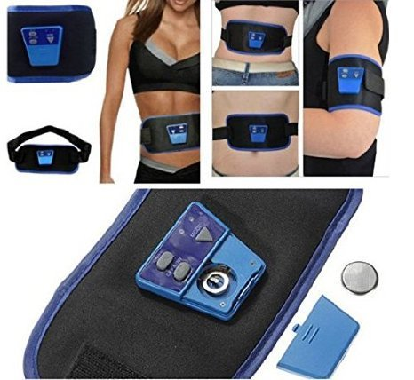 Ab Gymnic Electronic Muscle Arm Leg Waist Abdominal Massage Slim Belt By  Areeya afaa95eae66