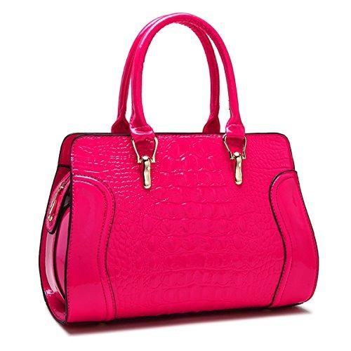 Borsa di moda Borsetta Borsetta borsa a tracolla messenger bag, deep pink