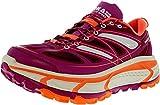 Hoka One One Womens Mafate Speed Womens Wild Aster/Neon Coral Ankle-High Walking Shoe - 7.5M
