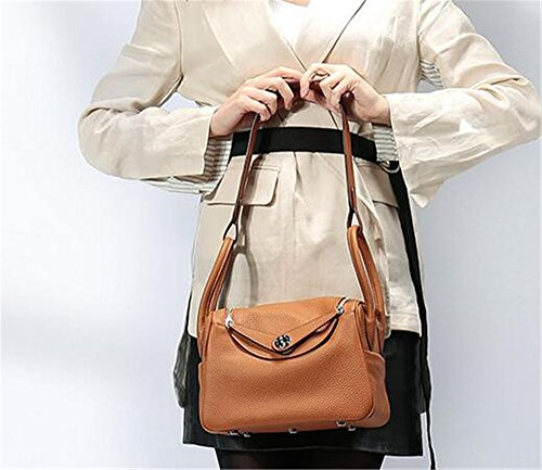 Platine médecine de Dame en grain main Yellow Sac Médecin sac à de épaule forfait sac Sacs cuir Psoriasis gx4xR