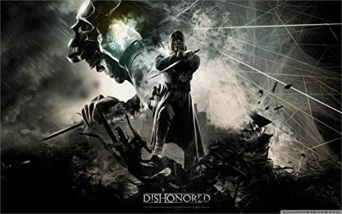 Dishonored Video Game Canvas Poster Print