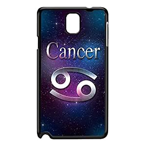 Cancer Black Hard Plastic Case for Galaxy Note 3 by textGuy + FREE Crystal Clear Screen Protector