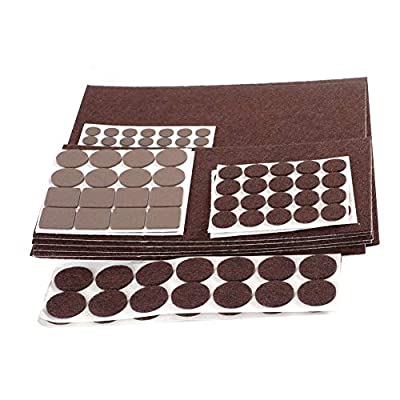 Furniture pads 249 pcs felt pads for hard Floor and furniture Protecting, nicks and scratches preventing, Furniture Gripper to reduce noise during a move Protect Your Hardwood & Laminate Flooring
