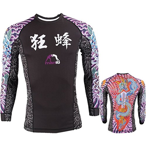 Rashguard Manto Krazy Bee-l MMA Training Fitness rash guard mma 14