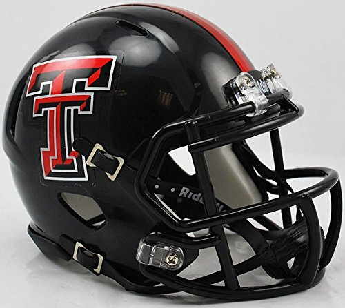 Texas Tech Mini Helmet (NCAA Texas Tech Red Raiders Speed Mini Helmet)