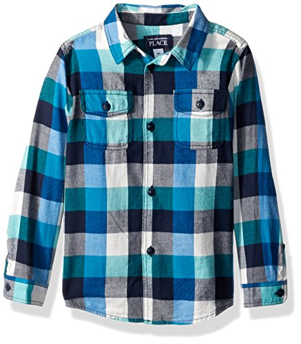 Plaid Boys Shirt - 9