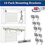 10 x Extra Mounting Brackets to suit Mini U-Line Aluminium LED Profile by XE LED Solutions