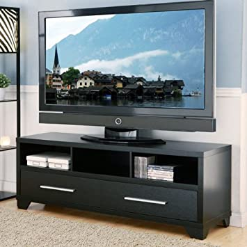 24 7 Shop at Home 247SHOPATHOME IDI-13651 Television-Stands, Black