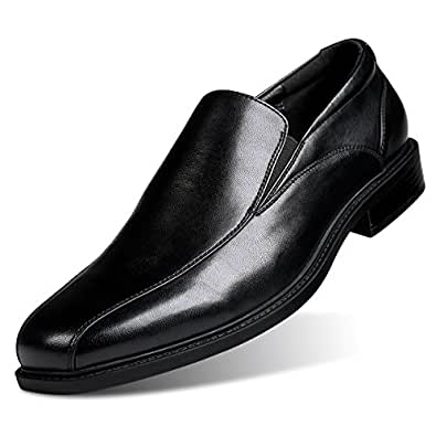 Amazon Gm Golaiman Mens Formal Leather Dress Shoes Slip On
