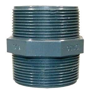 bicónica M. AG 3/8'de PVC