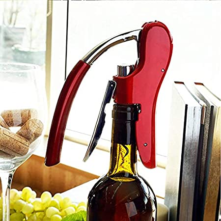 AILSAYA Abrelatas De Botella, Sacacorchos del Vino Sacacorchos con Caja De Regalo Elegante, Compacta Sacacorchos Es Un Regalo Ideal para Los Amantes del Vino,A