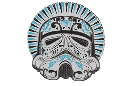 [Disney's Star Wars Day of the Dead Filigree Art Design Stormtrooper Pin] (Stormtrooper Disney)