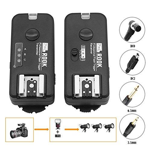 Pixel 2.4GHz Wireless Shutter Remote Control Flash Trigger Transmitter's hot shoe support TTL flash for Nikon DSLR Digital - Flash Wireless Remote