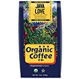 coffee bean bin - The Organic Coffee Co., Java Love- Whole Bean, 12 Ounce, USDA Organic