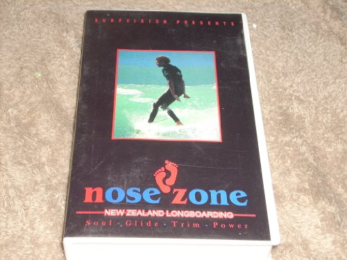 Nose Zone Surfvision Video 70 Minutes  New Zealand Longboarding   Soul Glide Trim Power   The Best Longboarders  Surfers  Shapers  Waves  Boards Look Into The Future  Papamoa  Nz  Vhs  Ntsc Format  In Original Clamshell Case