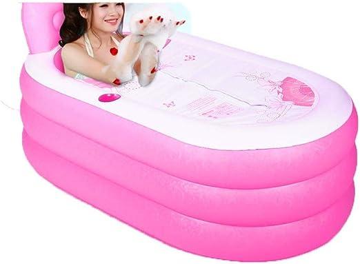Jacuzzi piscinas baño Inflable plástico más gruesa adultos bebé ...