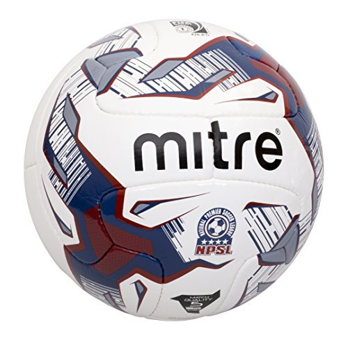 液化するの面では窓Mitre Monde V12 with NPSL Graphics Soccer Ball