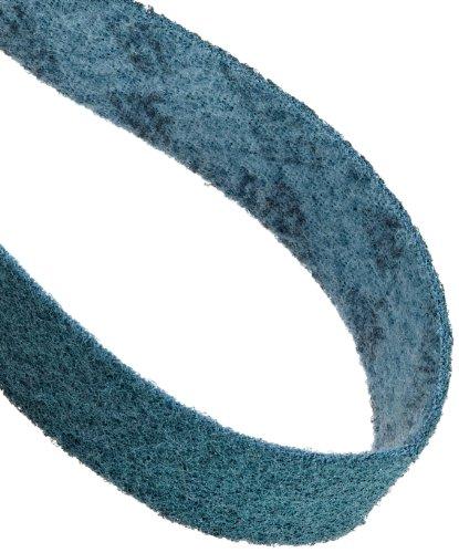 Scotch-Brite Surface Conditioning Belt, 48'' Length x 2'' Width, Very Fine, Blue (Pack of 1) by Scotch-Brite