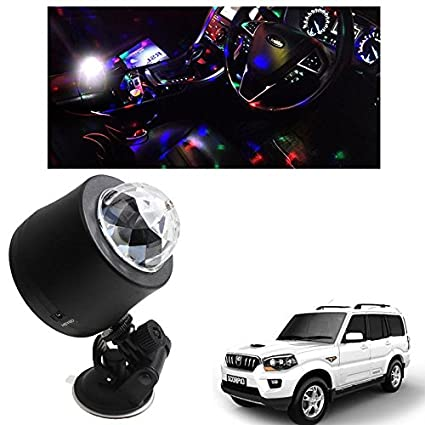Vheelocityin Usb Disco Ball Ambient Light Car Interior Light Starry