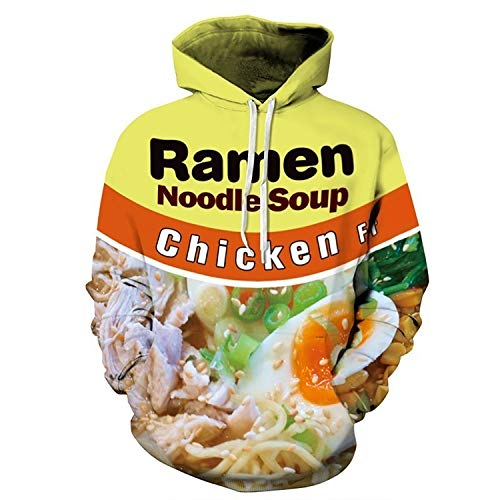 JUNG KOOK Men Women Funny 3D Digital Printing Hoodie Ramen Donut Sweatershirt Sweater Coat