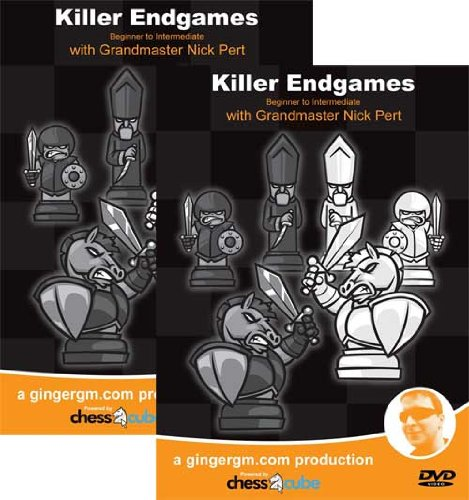 Killer Endings - Parts 1 & 2 (Beginner to Advanced) GM Nick Pert - Two Chess DVDs