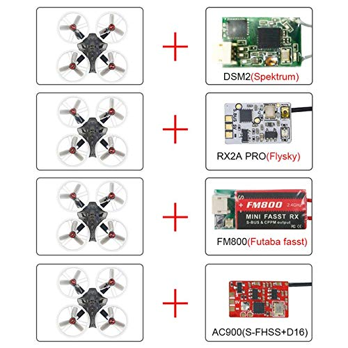 Wikiwand LDARC ET115 5.8G 16CH VTX DSM2 Receiver OSD Camera FPV RC Racing Drone PNP by Wikiwand (Image #1)