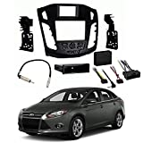 Ford Focus 2012-2014 Single or Double DIN Stereo Harness Radio Install Dash Kit